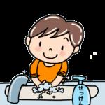 シャチハタ 手洗い練習スタンプ おててポン スッキリで紹介される